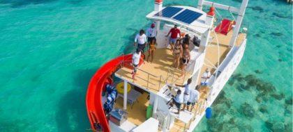 Catamaran Cruise,Snorkel & Natural Pool (open bar ) along Punta Cana Coast