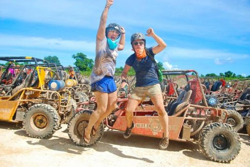 2 guys jumping best punta cana tours