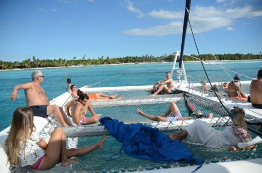 Catamaran Saona Island