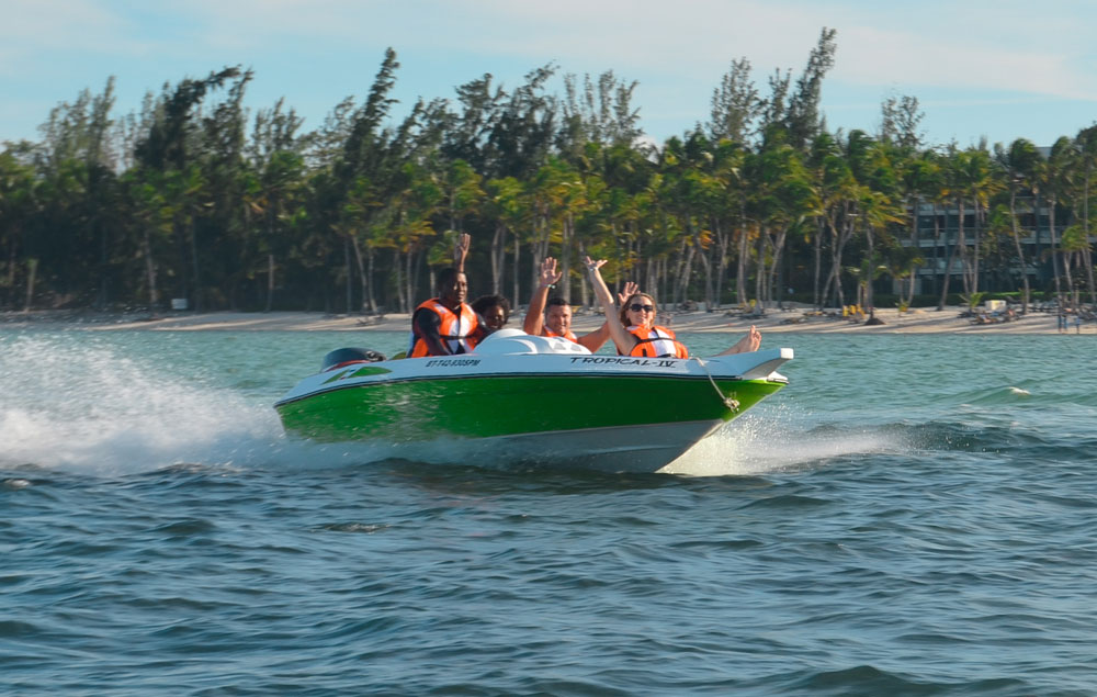 best punta cana tours speed boat adventures